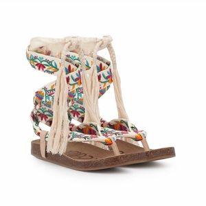 Sam Edelman Kelby Floral Embroidered Sandals